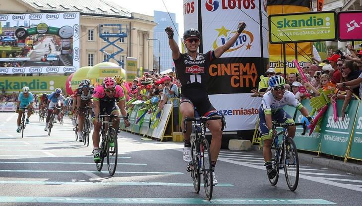 Retorno em grande estilo, Macel Kittel vence etapa em Varsóvia.