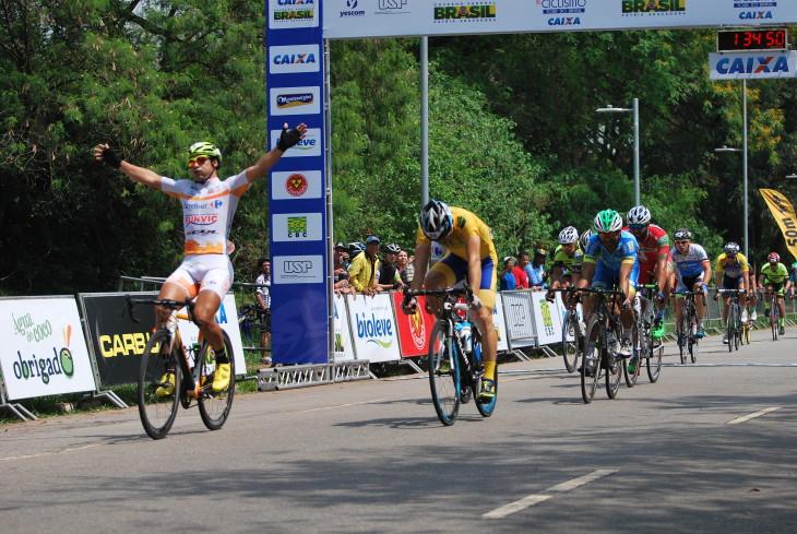 Chamorro vai em busca do seu 4º título da Copa América. Na USP venceu a primeira etapa. Foto: George Panara/MundoBici©