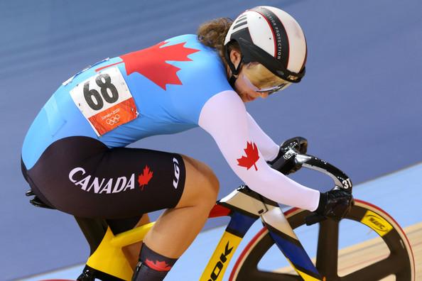 A velocista canadense Monique Sullivan confirma mais um título nos 200m