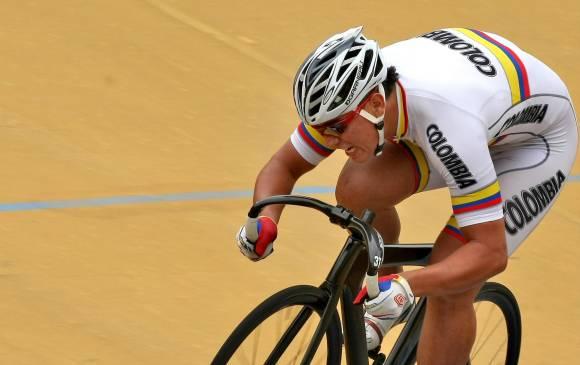 Fabian Puerta é a esperança de medalhas no Rio 2016 para os colombianos. foto: Juan Antonio Sánchez