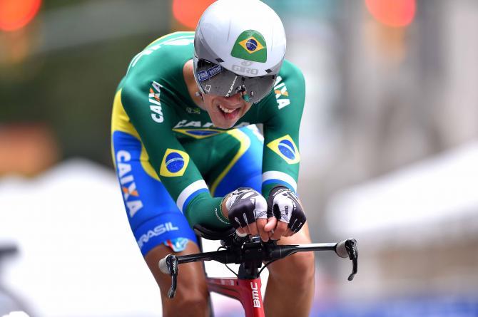 O brasileiro Mácio Pessoa terminou na 55º posição a 7m17s98 do vencedor – Foto: Tim de Waele/TDWSport.com