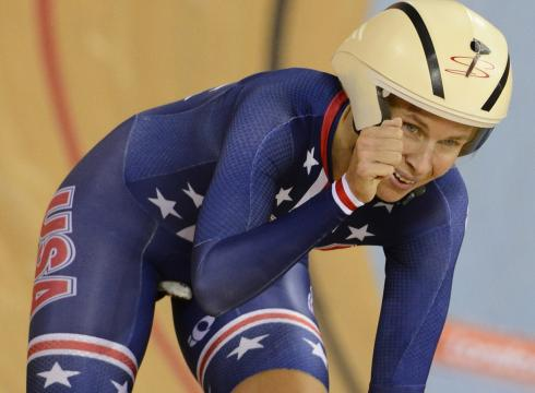 Sarah Hammer dominou os dois dias de disputas do Omnium foto: Andrew P.Scott/USAToday Sports