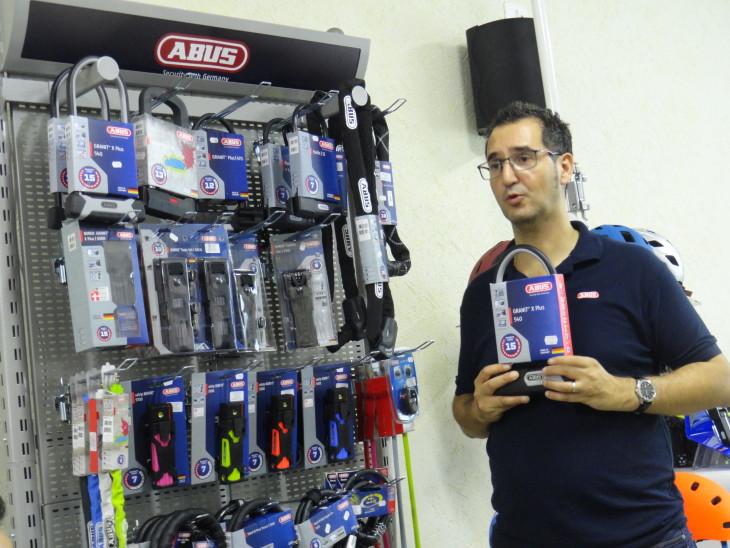A linha completa da ABUS foi apresentada para lojistas