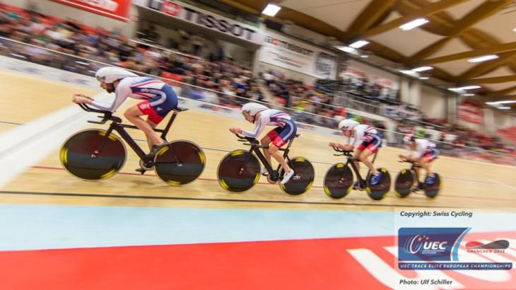 Bradley Wiggins comandou a quarteta britânica que conquistou a medalha de ouro