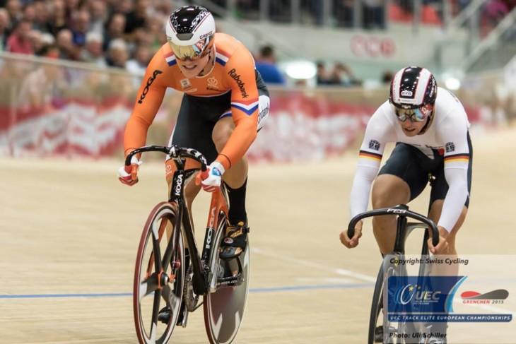 O holandes Hoogland venceu os dois matches contra o alemão Niederla