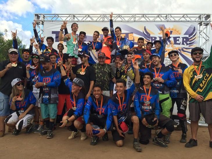 Participantes do The Biker Brasil - foto: CBMTB