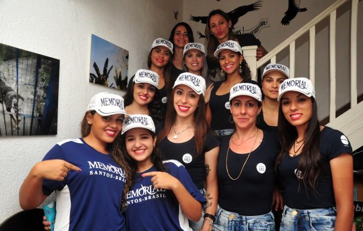 A equipe da Memorial Girls foto: Ivan Storti