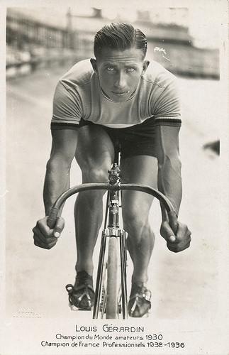 Louis Gerardin, o Toto, foi campeão mundial amador em 1930 e campeão francês profissional em 1932 e 1936