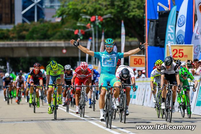 Andrea Guardini escreve sua história no Tour de Langkawi com 20 vitórias de etapa