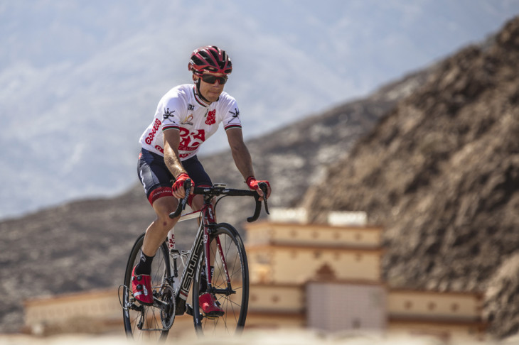 Tour of Oman 2016 - 20/02/2016 - Stage 5 : Yiti (Al Sifah) / Ministry of Tourism (119,5Km) - Brendan Canty ; Drapac Cycling ; Maillot Blanc ; White Jersey Foto: © Muscat Minicipality/Paumer/Kåre Dehlie Thorstad