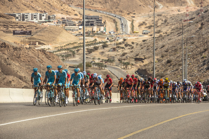 Tour of Oman 2016 - 20/02/2016 - Stage 5 : Yiti (Al Sifah) / Ministry of Tourism (119,5Km) - Astana Pro Team Foto: © Muscat Minicipality/Paumer/Kåre Dehlie Thorstad