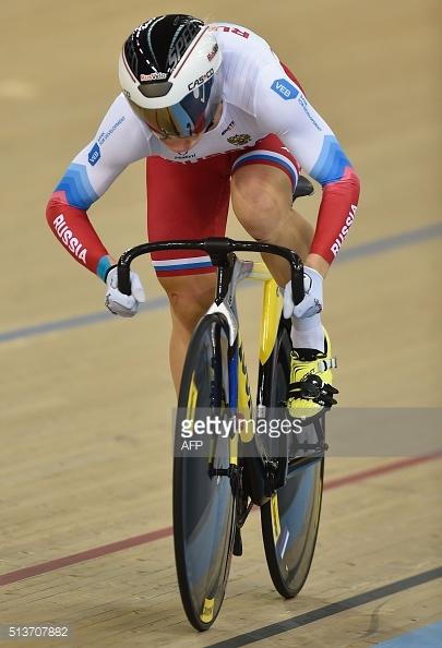 Anastasiia Voinova foi a mais veloz na prova de 500m