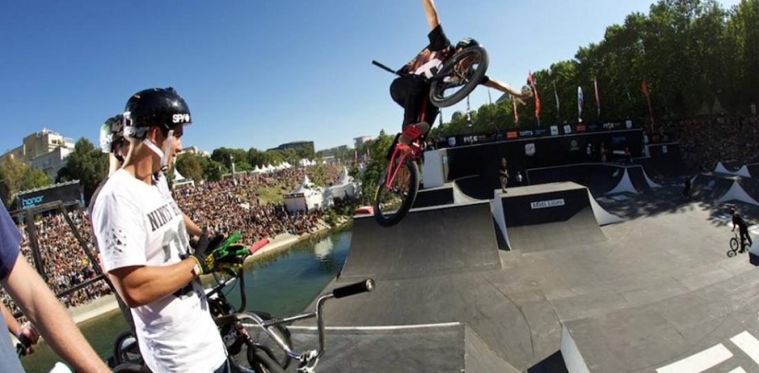 Em 2016 a Copa do Mundo UCI de BMX Freestyle Park terá 4 etapas: 2 na Europa e 2 na América do Norte