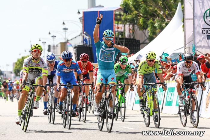 Guardini fecha com 4 vitórias de etapa