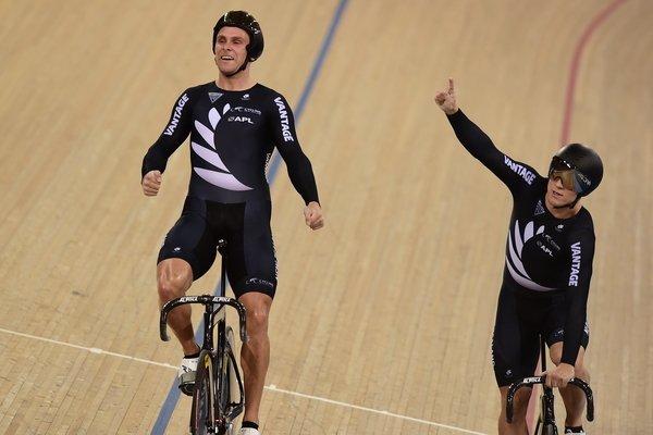A Nova Zelândia conquistou o ouro na Velocidade por Equipes  foto: Getty Images Sport