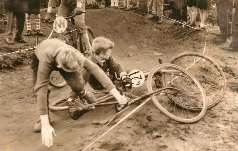 Desde sempre os tombos fazem parte das disputas do BMX
