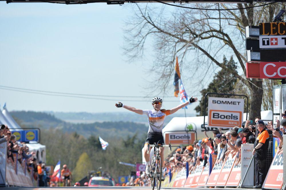 Flèche Wallonne Femmes 2016 - 20/04/2016 - Huy - Belgique - Victoire d'Anna Van Der Breggen, Raboliv Women Cycling Team