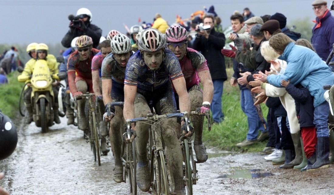 Parijs-Roubaix, foto Cor Vos ©2002 George Hincapie