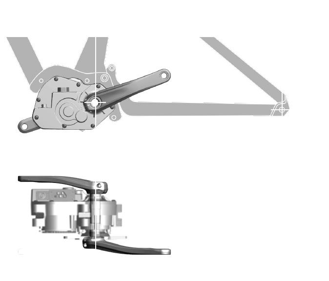Um motor compacto possibilita traseiras mais curtas e um central de 175mm garante um Fator Q bem próximo de uma MTB normal