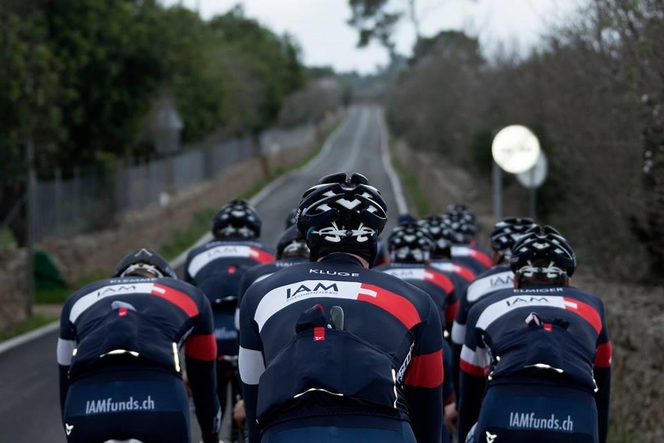 Durou quatro anos o sonho de uma equipe profissional para o suíço Michel Thétaz - foto IAM Cycling