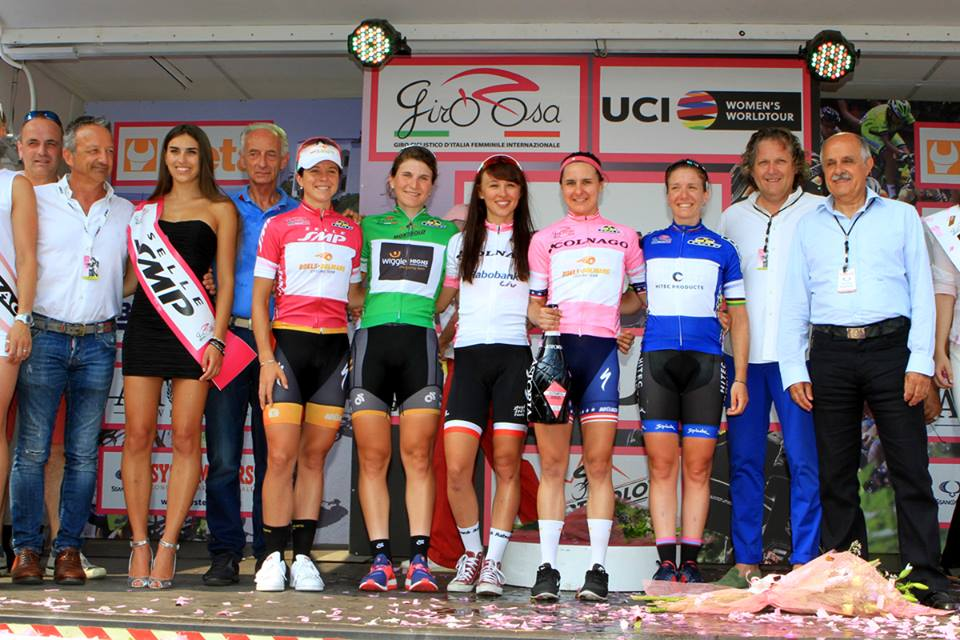 As camisas do Giro ©Flaviano Ossola/Giro Rosa
