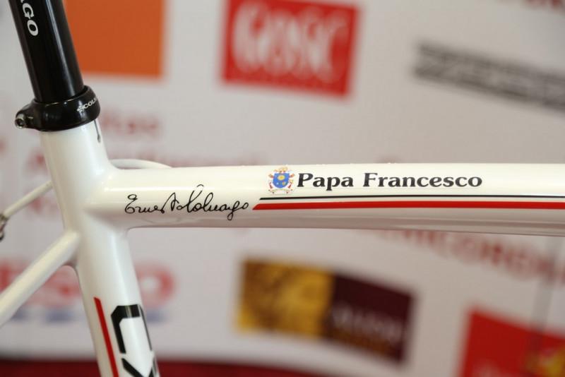 A bicicleta foi personalizada - foto: Tour of Pologne