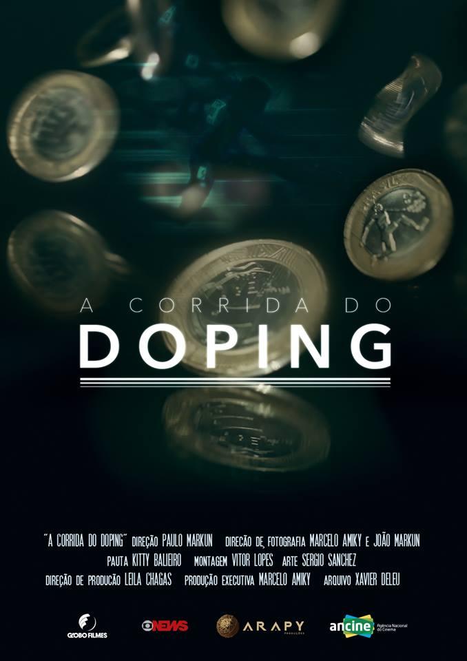 poster a corrida do doping