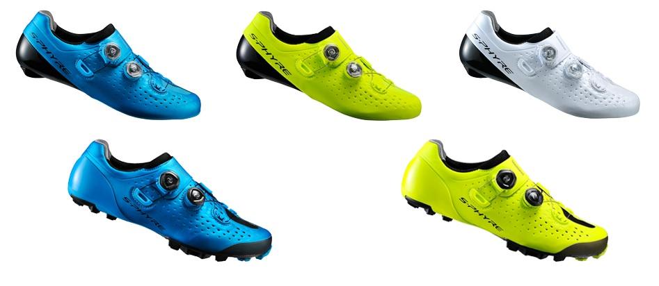 A coleção de sapatilhas Shimano S-Phyre RC9 e XC9