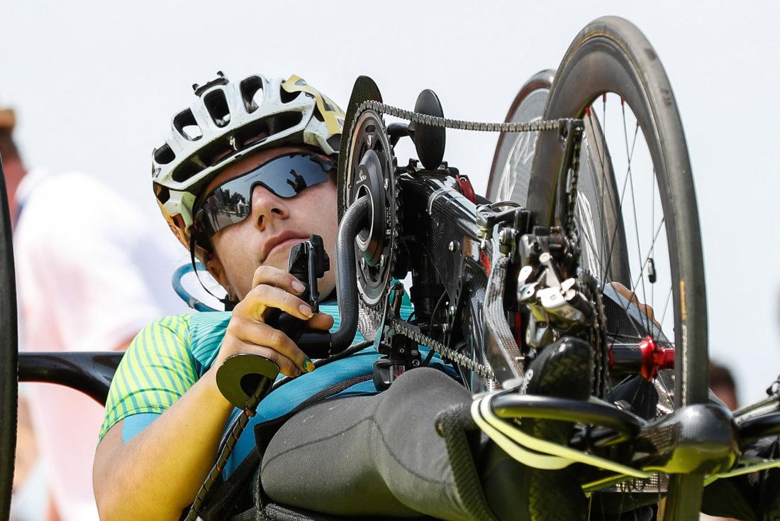 Jady Malavazzi marcou o 6º tempo na H3 - foto: Comitê Paralímpico Brasileiro