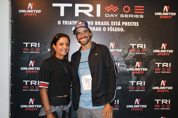Fernanda Keller e Igor Amorelli elogiaram a iniciativa e apostam nas provas de curta distãncia para a evolução da modalidade - foto: Fábio Falconi / Unlimited Sports