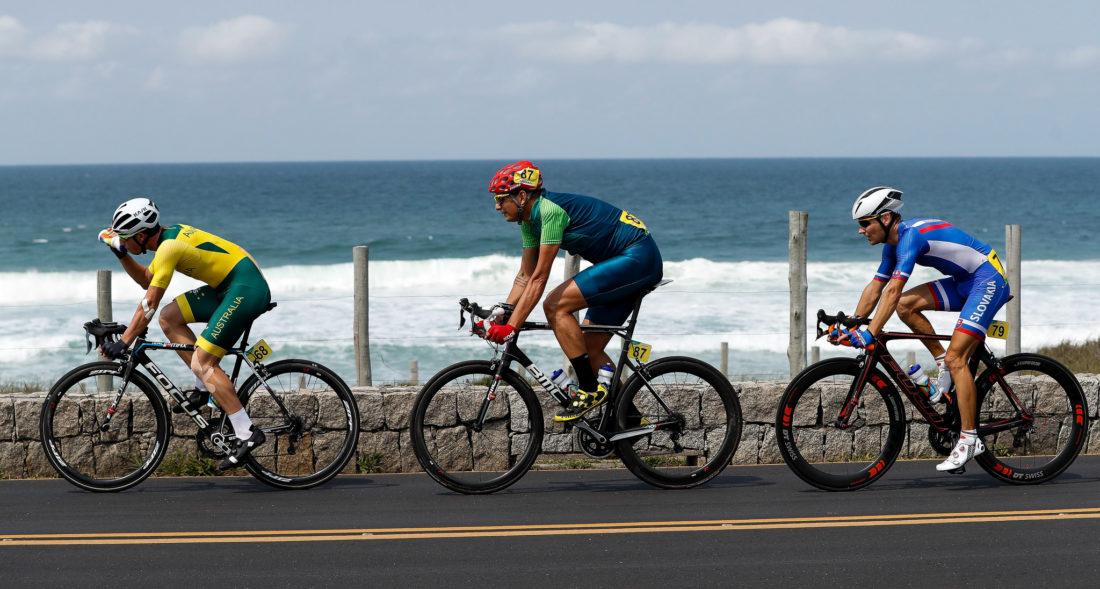 BRIDGWOOD Kyle Bridgwood, Soelito Gohr e Patrik Kuril - foto: Washington Alves/MPIX/CPB