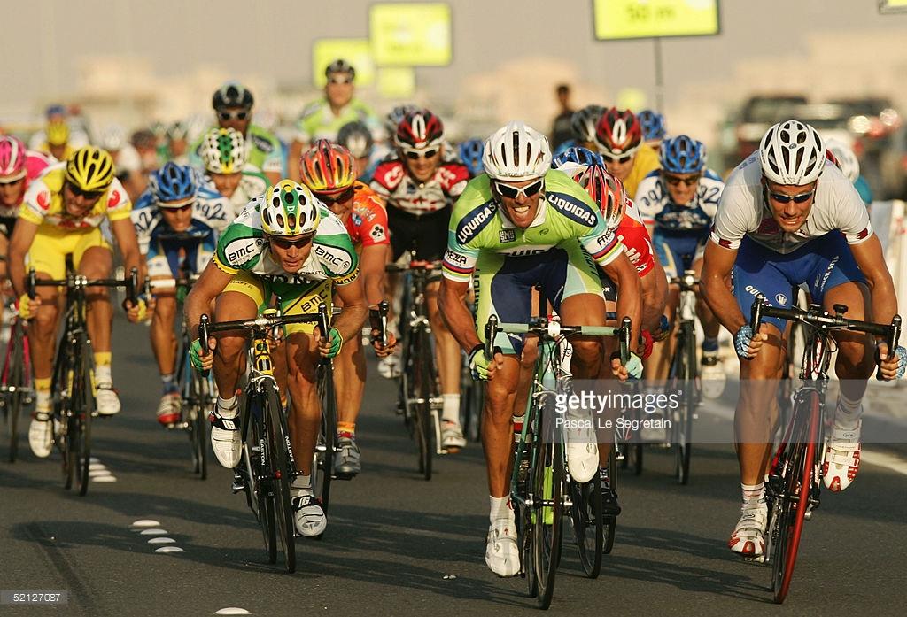 Em 2005, Cipollini venceu a 4ª etapa do Tour do Qatar - foto: Pascal Le Segretain/Getty Images