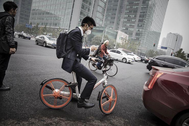 Mobike foto: QilaiShen/Bloomberg